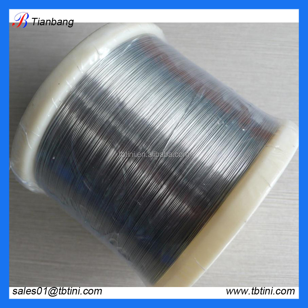 high quality memory nickel titanium nitinol medical wire in china market