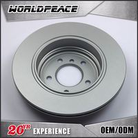 High-strength Sand casting disc brake rotor, well resistance brake rotor