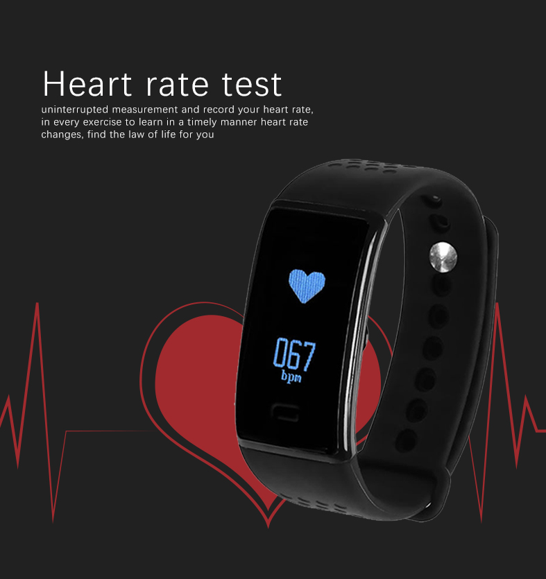 new andriod and ios compatible bluetooth smart phone watch wristband bluetooth heart rate transmitter