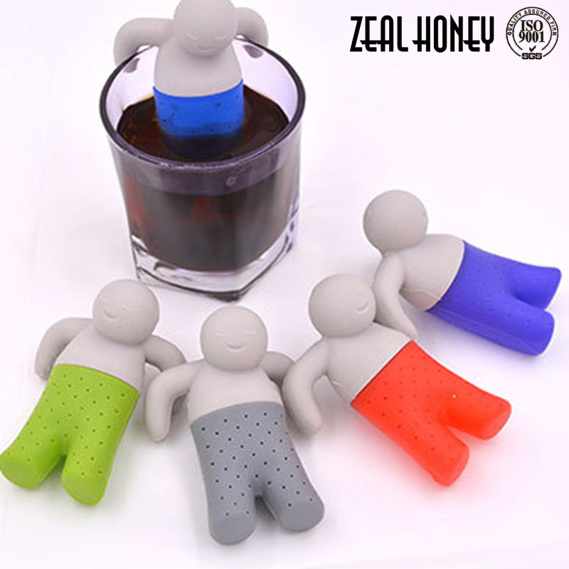 Zealhoney Hot Sale Tea accessories Manufacturers Selling Fashion Darling Type Tea Maker Of High Quality Silicone White Tea