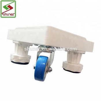 4 Wheels High Quality Adjustable Moving Base Moving Tools/Refrigerator Parts