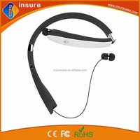 wireless bluetooth v4.1 foldable and retractable neckband headphones for mobile phones
