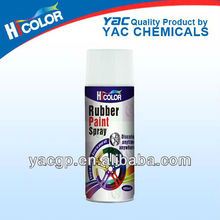 Paint for tire rubber 400ml rubberized spray paint car care product from China