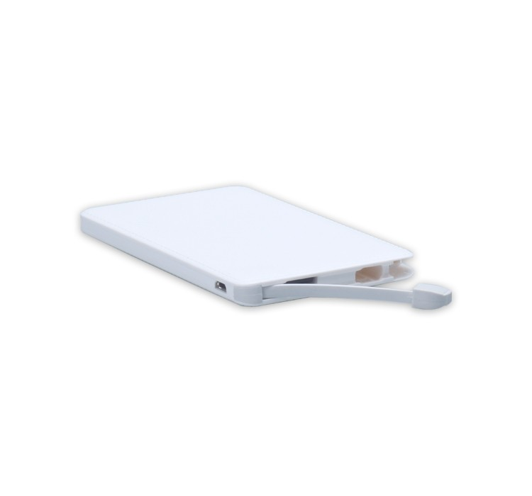 Wholesale New Mobile charger slim power bank 4000mah, portable phone charger
