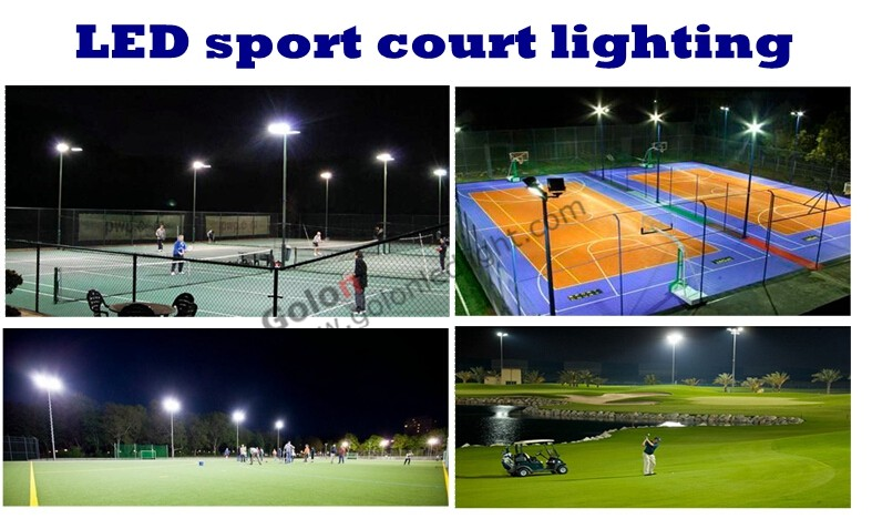 led tennis court lighting 200w 150W IP65 outdoor indoor sport field flood light for badminton basketball volleyball court