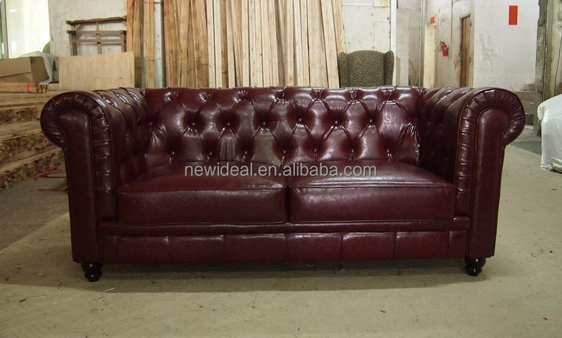 Promotion top grain leather sofa NC5067