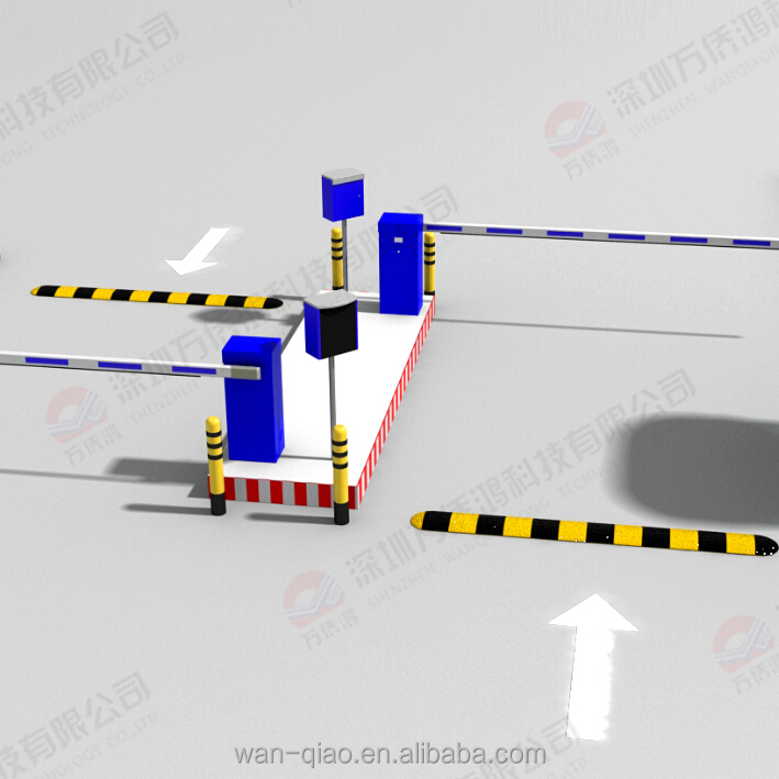Full automatic no stop Car Parking Lot System with parking barrier and parking box