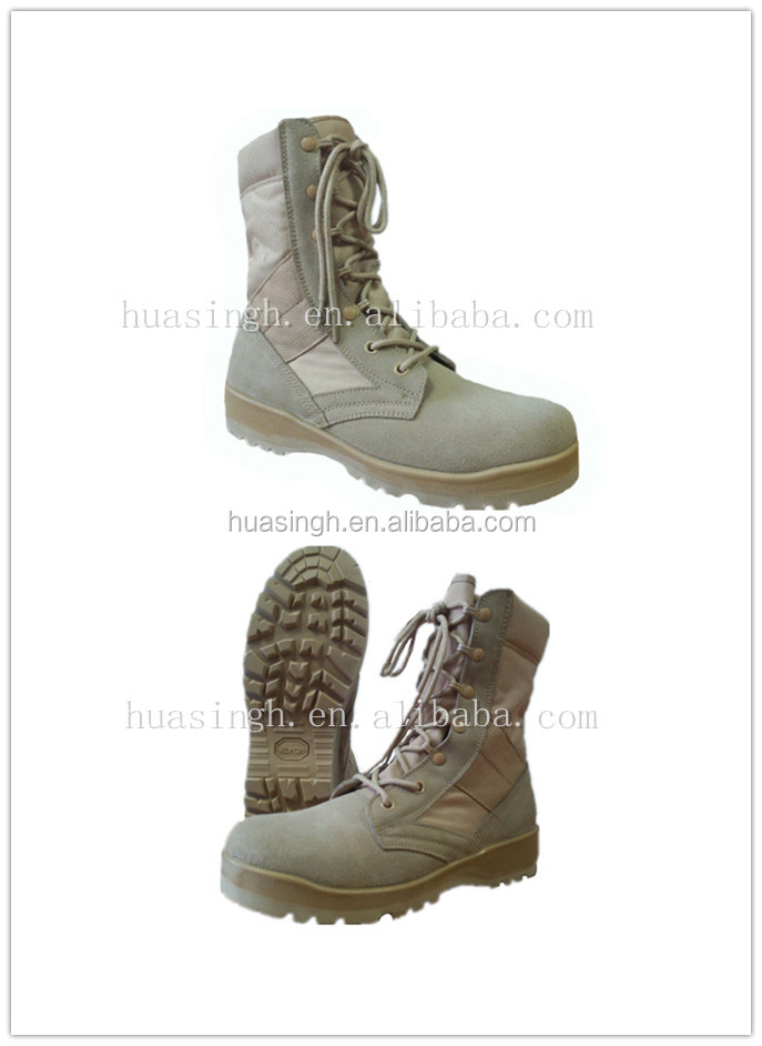 Wellco Brand Land Force Tactical Defense Desert Boots For Military