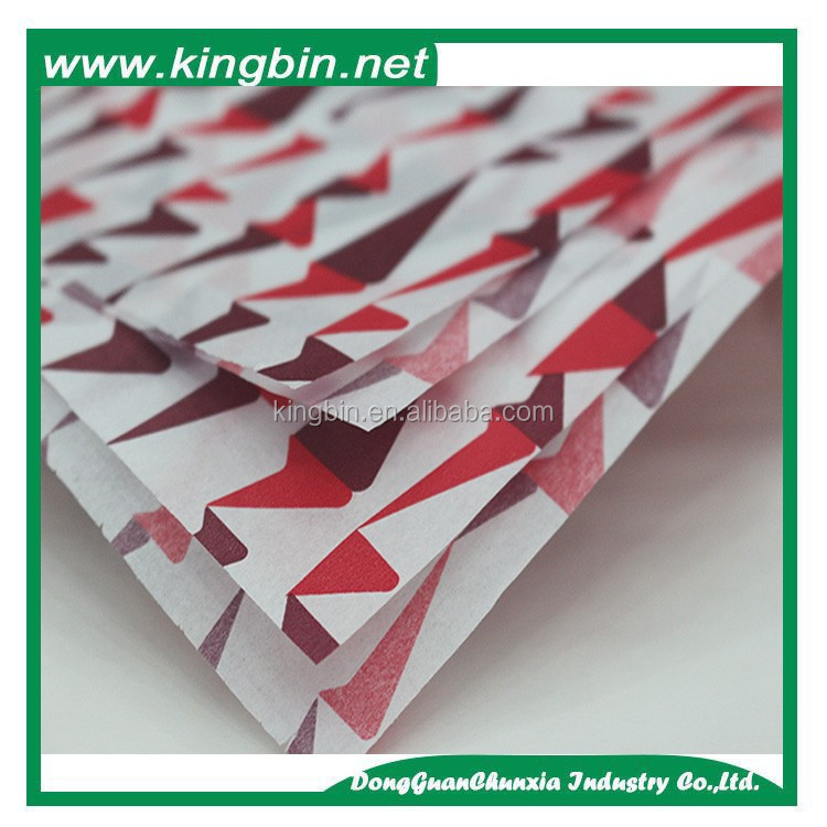 Printing cheap packaging bulk tissue paper all size cut to suit customers