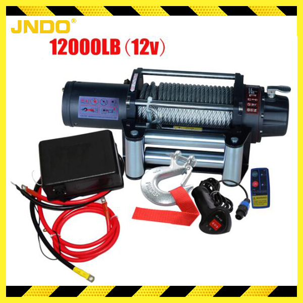 12000lb 12V Powerful 4x4 Off-road electric vehicle winch