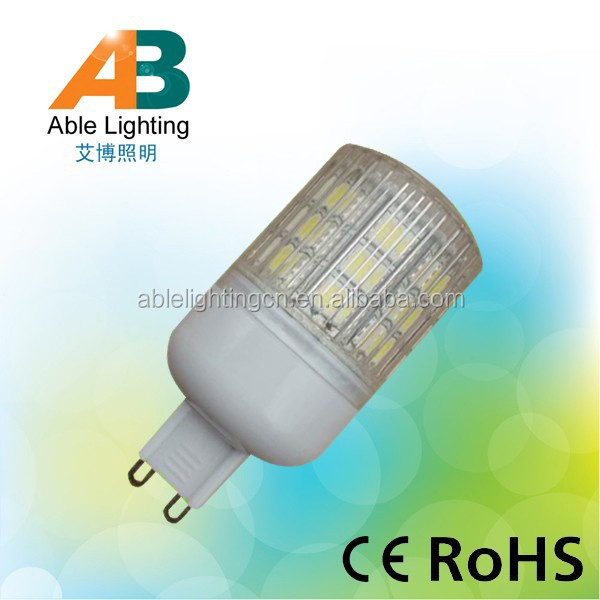 24v 3.8w led <strong>spotlight</strong> 5050smd dimmable bulb led g9 ce rohs led lamp