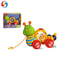 Amazing electric cartoon animal toy Battery operated snail toy with music for kids HX1401852
