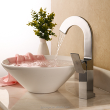 fashion design hot cold water mixer tap bathroom faucet