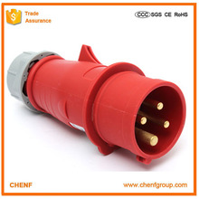 Standard Grounding European 32A 63A IP44 400V outdoor industrial plug