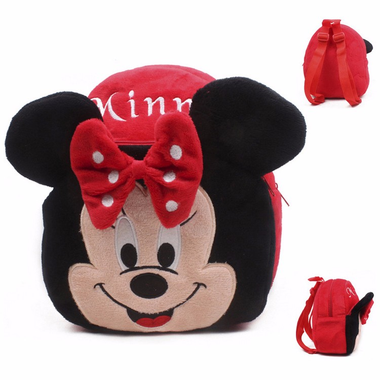 New cute cartoon kids plush backpack toys mini schoolbag Children's gifts kindergarten boy girl baby student bags lovely Mochila