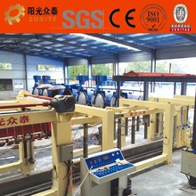 2017Chinese aac brick making machine aerated concrete block aac construction machine