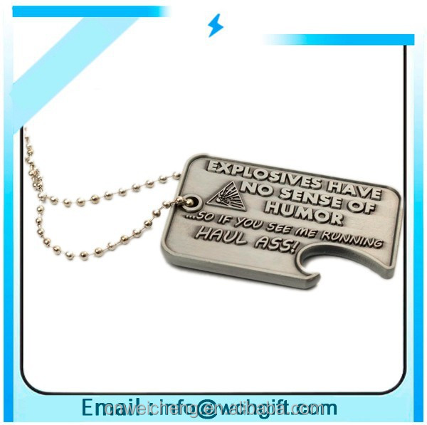 High quality military dog tags