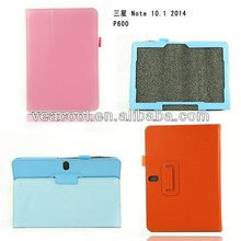 Stand PU Litchi Leather Case Cover for Samsung Galaxy Note 10.1 2014 Edition P600 P601 Stand Case