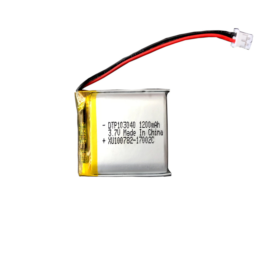 Factory supply high quality li ion polymer <strong>battery</strong> 103040 3.7v 1200mah lipo <strong>battery</strong>