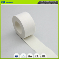 KLIDI 2.5cm Width 10m Size China Medical Skin Color Adhesive Zinc Oxide Sport Strapping Tape Plaster