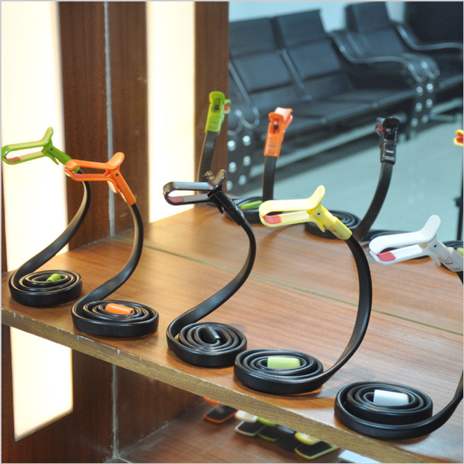 wholesale wrist mobile phone holder portable cell phone desk stand snake phoseat holder