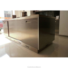Modern Modular Stainless Steel Kitchen Island/Outdoor Metal Cabinets/BBQ Gas Grill Outdoor Kitchen