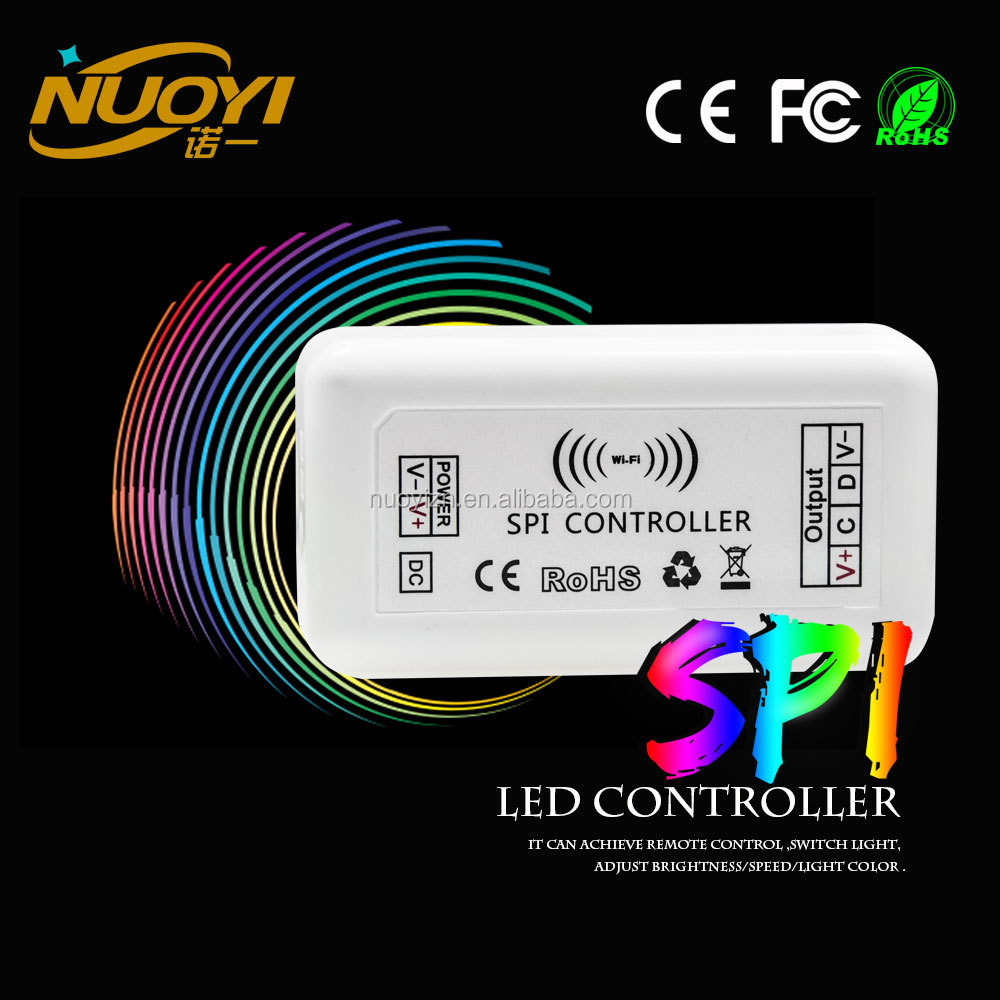 good price DC12V~24V IOS/Android Smartphone/ipad Plastic Box Wireless WIFI LED Controller