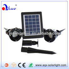 Solar garden lights led spotlights solar sensor light