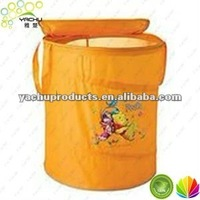 canvas pop up laundry bag or folding mesh pop up laundry bag