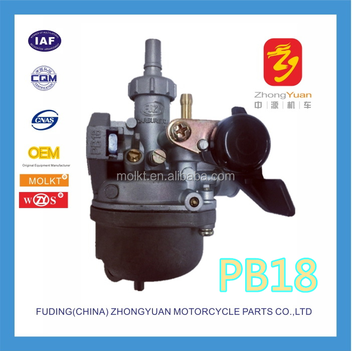 PB18 carburetor for Pakistan motorcycle 80cc Road Prince