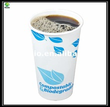 Disposible single wall paper cup for hot drink