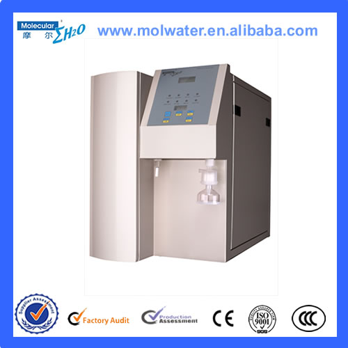 Automatic controll laboratory equipment for agriculture double distilled water