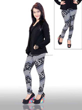 2016 Hot Sale Girls Sex Tights India Printed Leggings