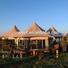 Best Quality PVDF Outdoor Waterproof Glamping Hotel Tent