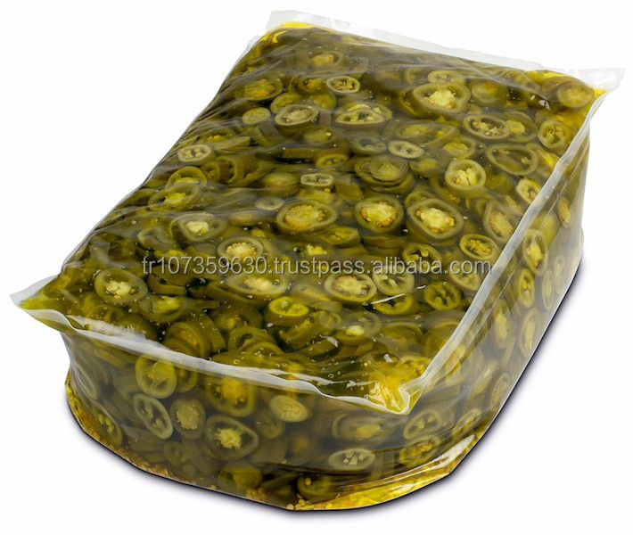 Sliced Jalapeno Peppers 8,5 Lt Pouch