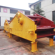 China mobile sand dewatering rotary vibrating screening machine for sale