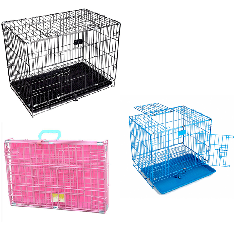 A Rectangle Folding Pet Cages Dog Kennels Pet Crate For Outside