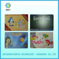 Phone cards made in China