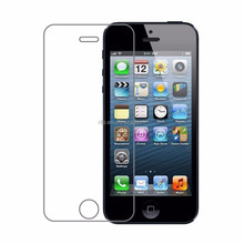 Cellphone Screen Skin, Tempered Glass HD Display Clarity Screen Protective Cover for iPhone 5s Protector