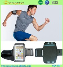 Best Selling Smartphone Accessories Soft Spandex Sport Armband , neoprene Sport Armband For Iphone 6s