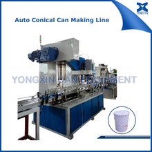 Fully automatic 5Gallon conical paint tin can making machine production line