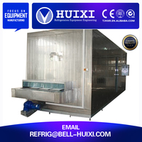 iqf tunnel fish large industrial refrigerator blast freezer price