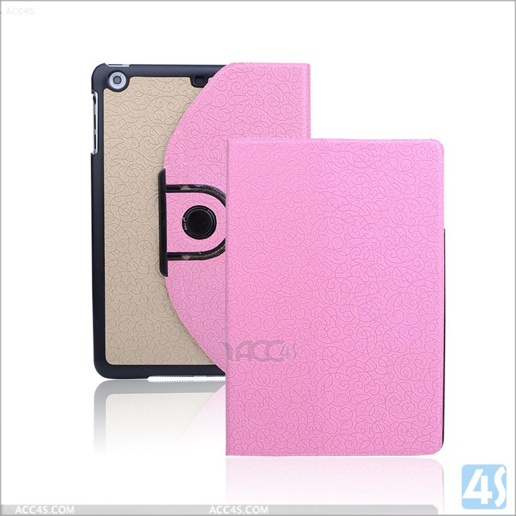 For Ipad mini 2 3 leather case 360 rotation, more options is available