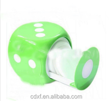 Dice Shaped Sleeves CD / DVD Carry Storage Case Box