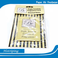 Different shapes perfume advertising car air fresherner