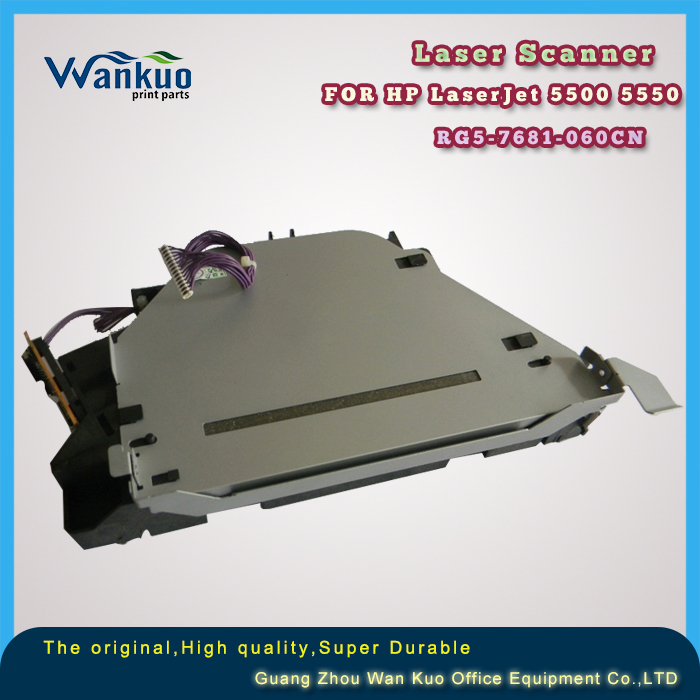 RG5-7681-060CN Scanner Assembly/Laser scanner assy for HP LaserJet 5500 5550 printer parts