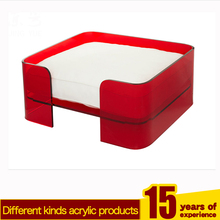 Factory custom red pmma plexiglass pet dog bed acrylic pet dog bed