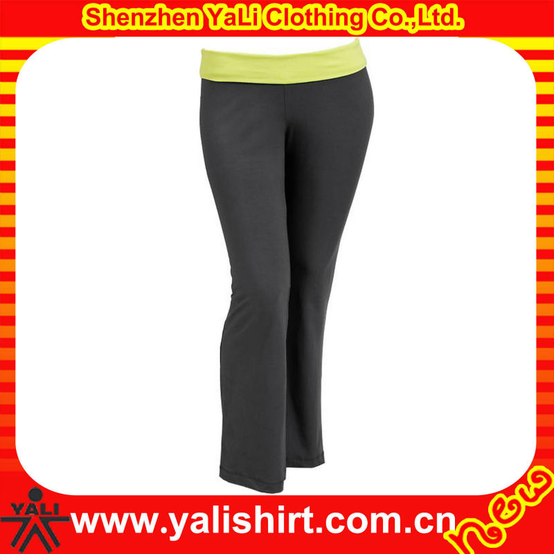 2013 OEM latest high quality grey elastic tight cotton slim women sexy yoga belly dance pants