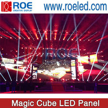 Radiant indoor LED video product, LED Strip Display price