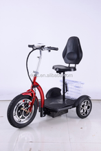 Turbo Motor 800W Three 3 Wheel Electro Scooter for Handicapped